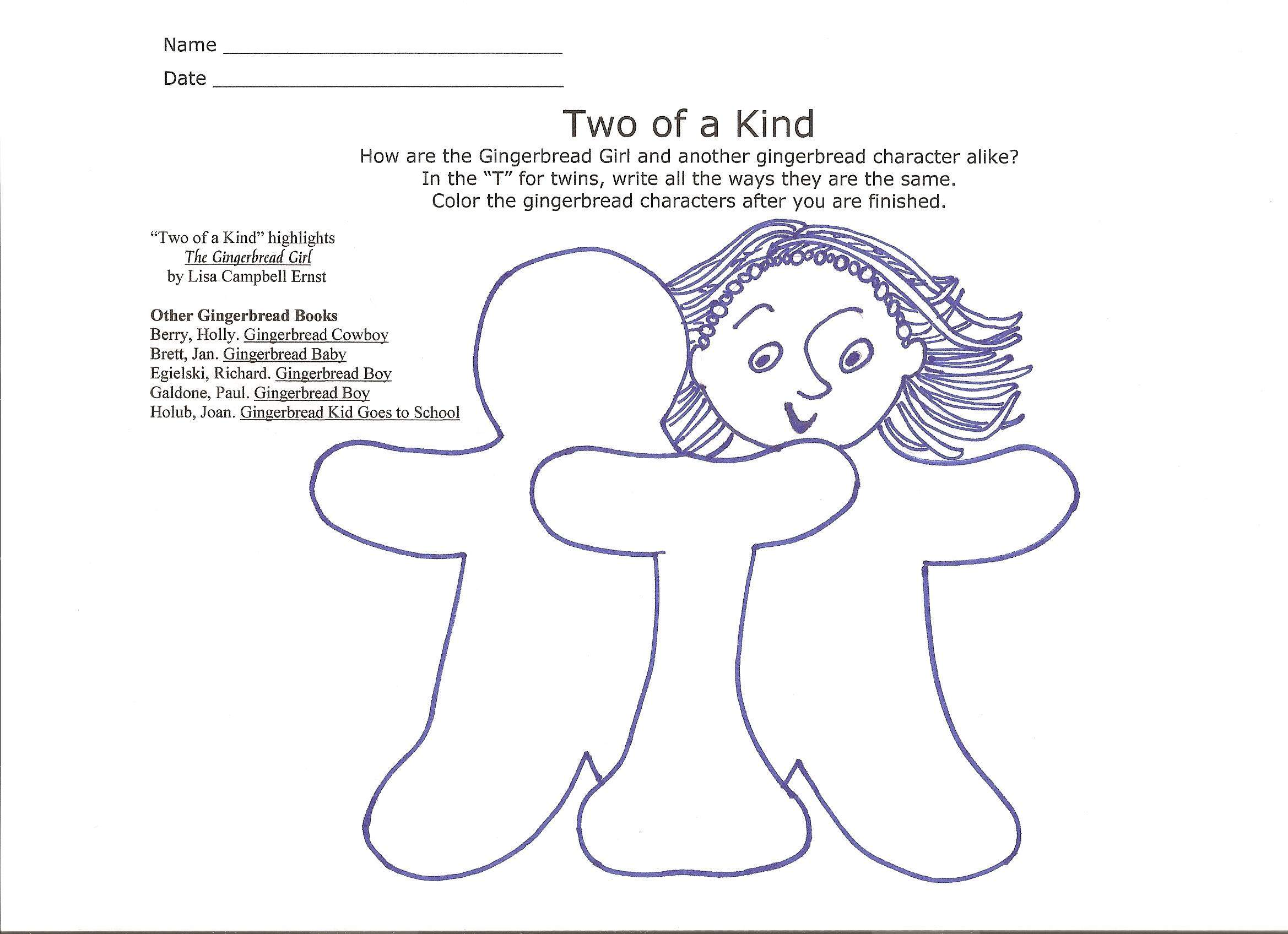 the gingerbread girl and the gingerbread boy compare and contrast the ...